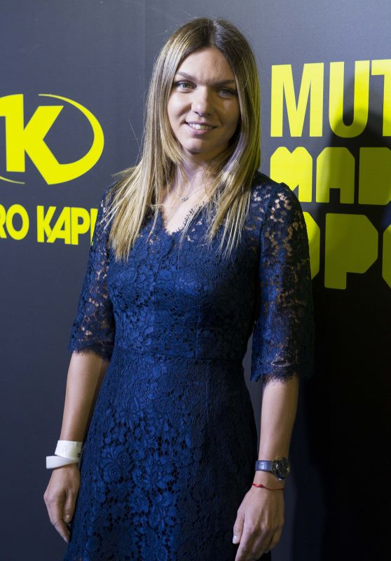 Simona Halep – Mutua Madrid Open Party at Teatro Kapital in Madrid 05/05/2017