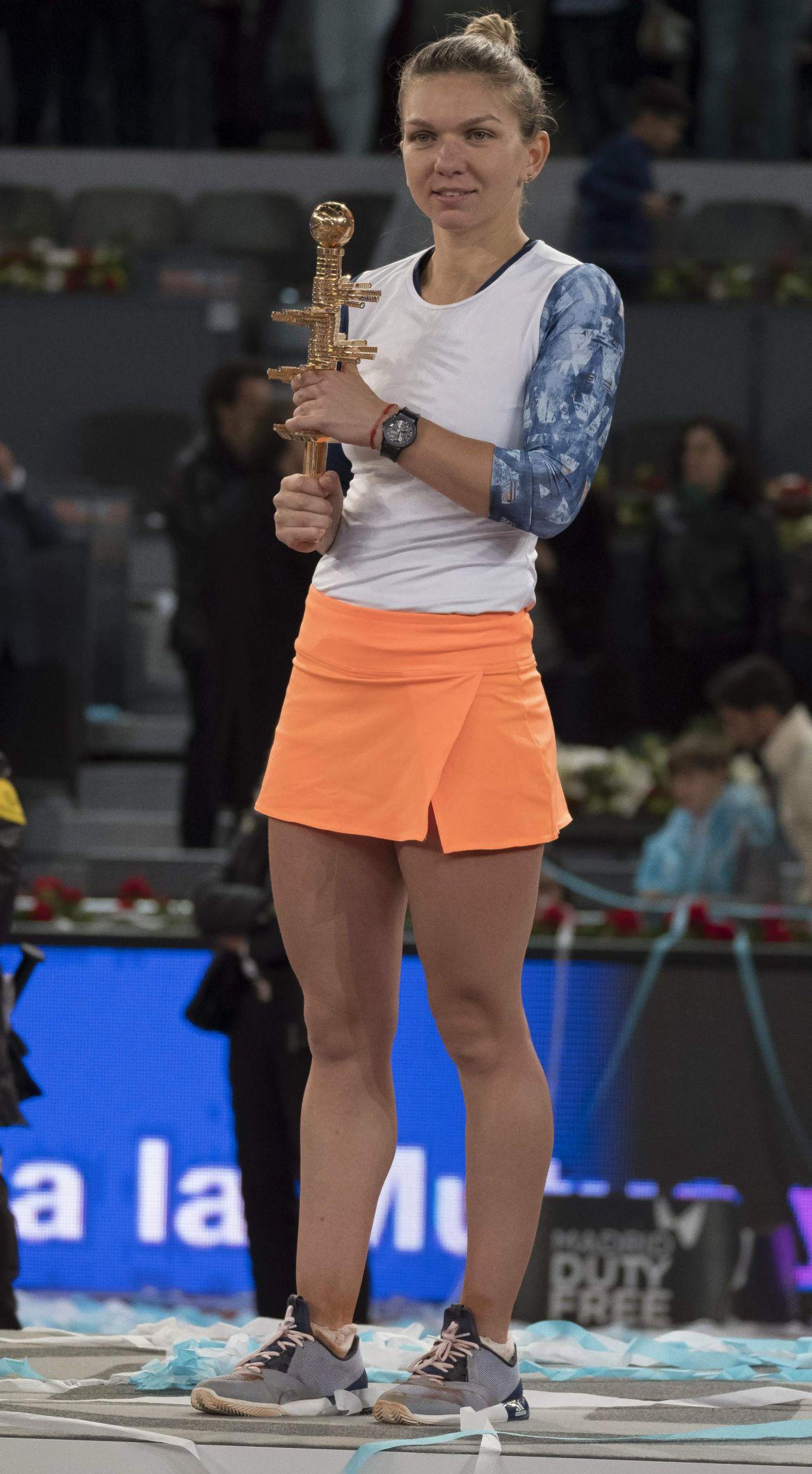 Simona Halep – Mutua Madrid Open Tennis, May 2017 Jessica Chastain