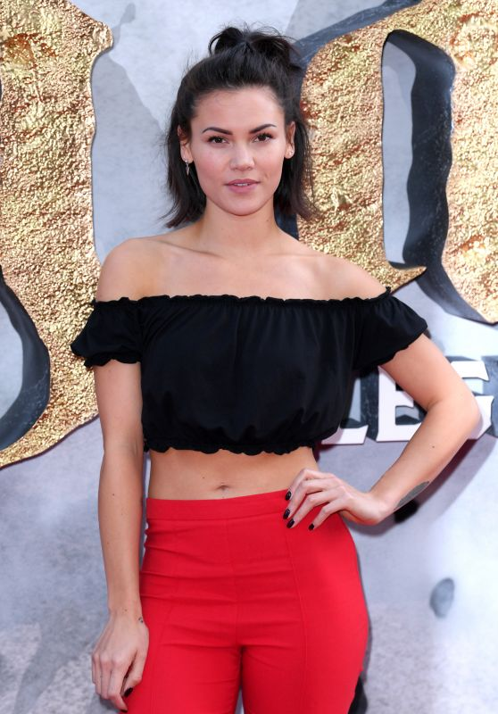 "Sinead Harnett – ""King Arthur: Legend of the Sword"" Premiere in London 05/10/2017"