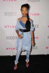 Skai Jackson – NYLON Young Hollywood Party in LA 05/02/2017