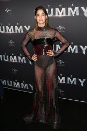 """Sofia Boutella - """"The Mummy"""" Premiere in Sydney 05/22/2017"""
