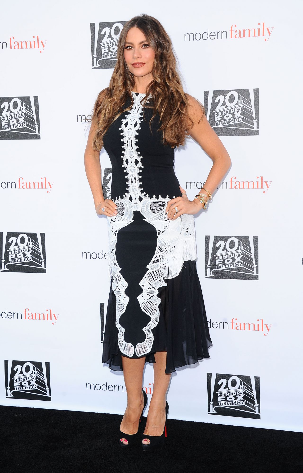 Sofia Vergara Modern Family Emmy Screening