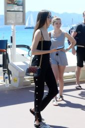 Sonia Ben Ammar and Thylane Blondeau Out in Cannes 05/20/2017