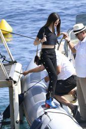 Sonia Ben Ammar - Leave the Cap Eden Roc Hotel in Cannes 05/26/2017