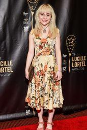 Sophia Anne Caruso – Lucille Lortel Awards in New York City 05/07/2017