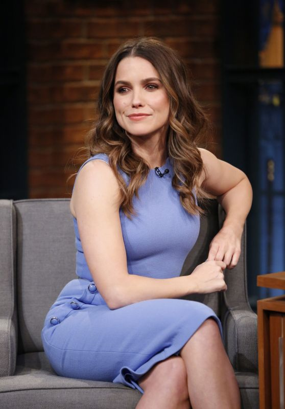 Sophia Bush Appeared on Late Night With Seth Meyers 05/10/2017