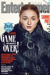 Sophie Turner & Maisie Williams - EW Magazine, June 2/9, 2017