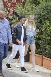 Sophie Turner With Joe Jonas in Cannes, France 05/22/2017