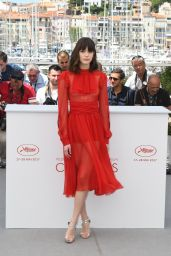 "Stacy Martin at ""Le Redoutable"" Photocall - Cannes Film Festival 05/21/2017"