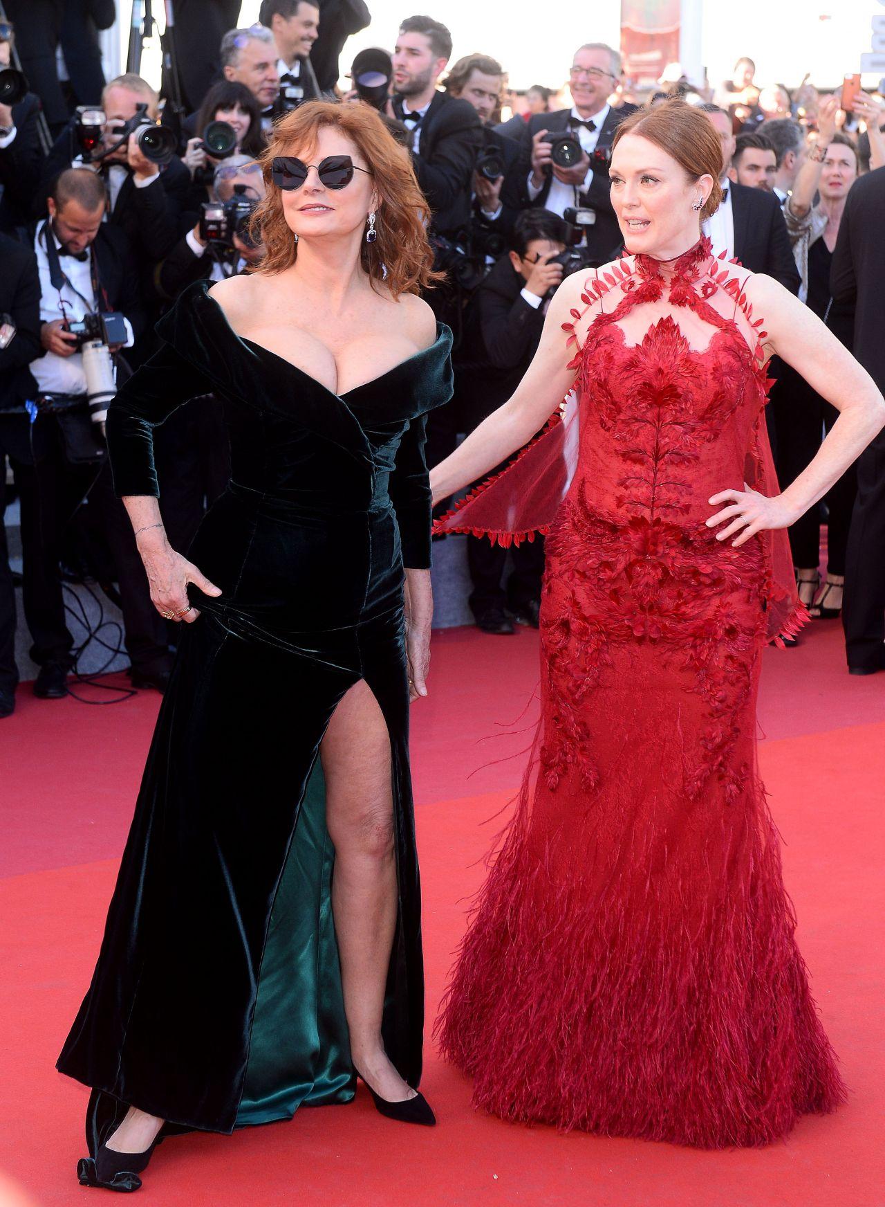 Susan Sarandon 70th Cannes Film Festival Opening