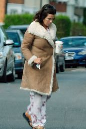 Susanna Reid - in Her Pyjamas Out in London 05/07/2017