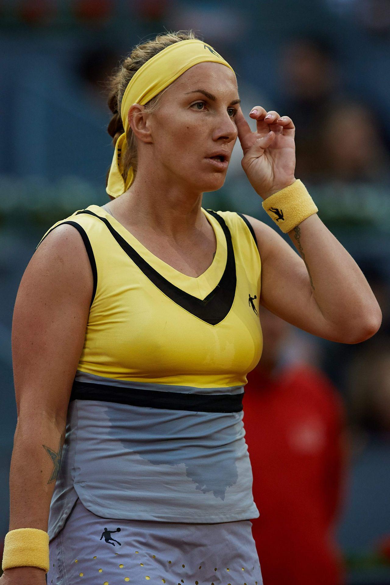 Svetlana Kuznetsova Mutua Madrid Open Tennis May 2017