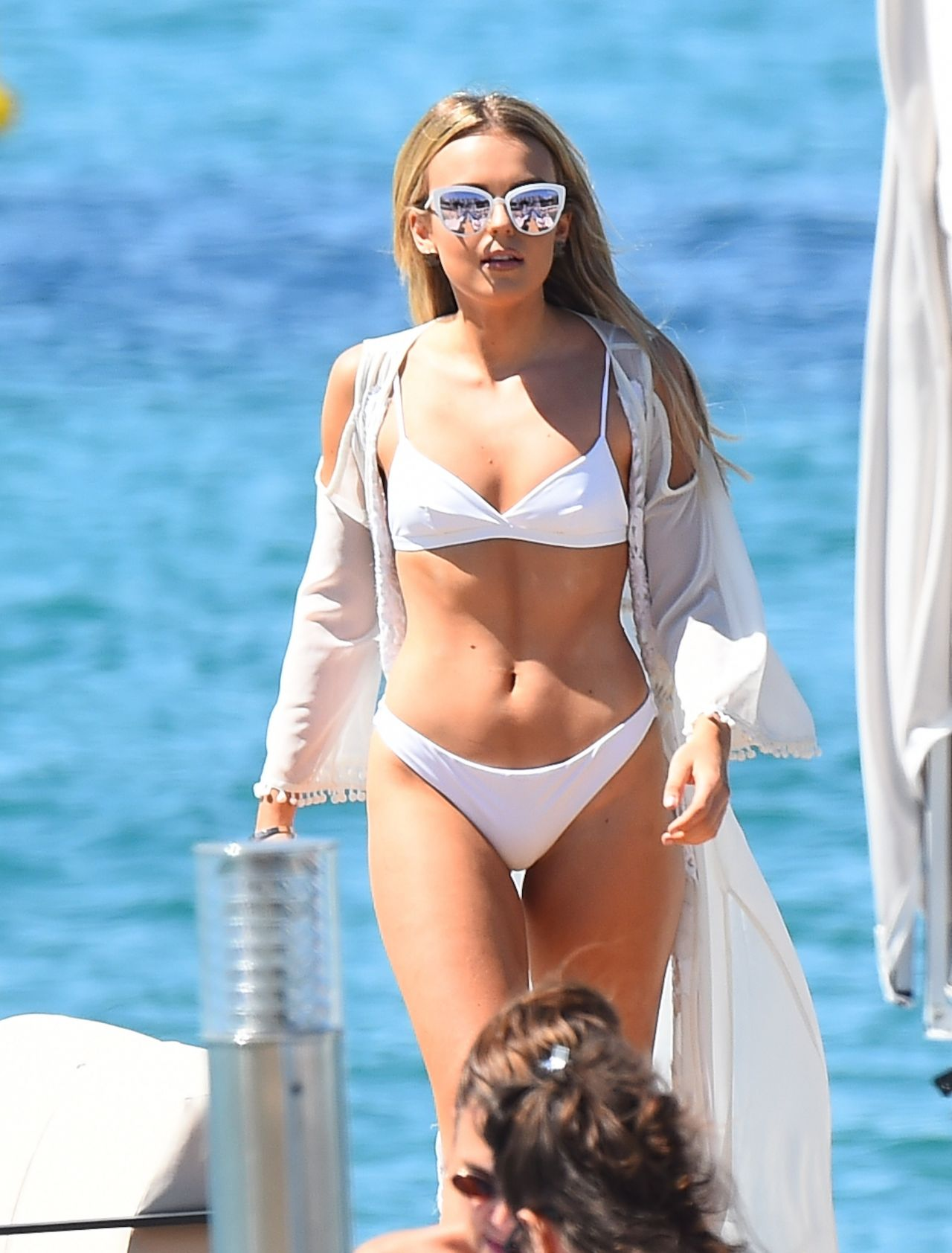 Watch Tallia storm in bikini at beach in cape verde video