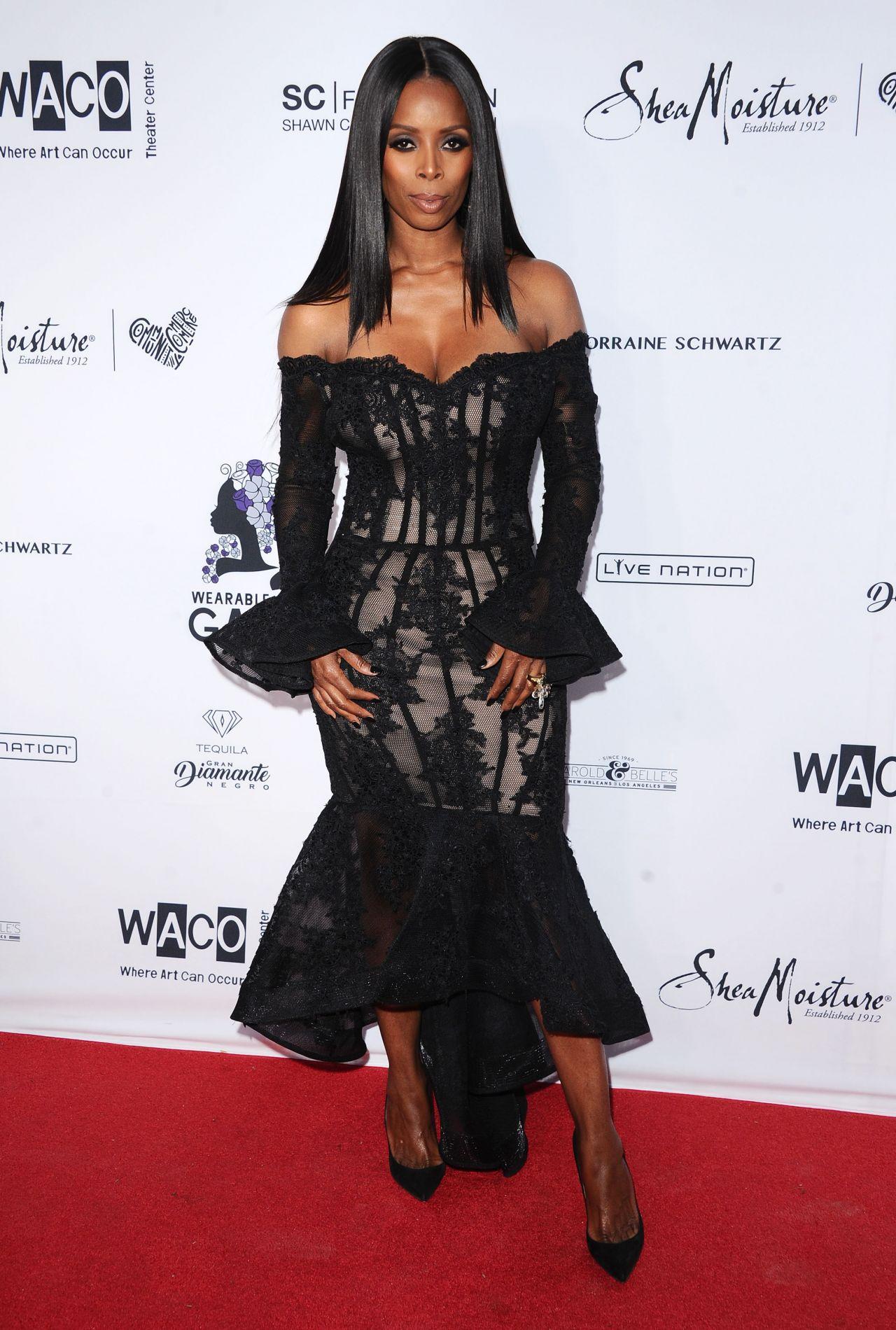 Tasha Smith Wearable Art Gala In California African