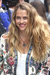 Teresa Palmer - Arrives at AOL Build In New York 05/30/2017