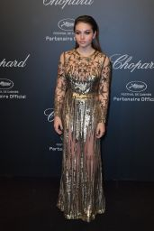 Thylane Blondeau at Chopard Space Party in Cannes, France 05/19/2017