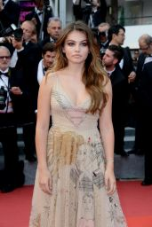"Thylane Blondeau – ""Loveless"" Premiere at Cannes Film Festival 05/18/2017"