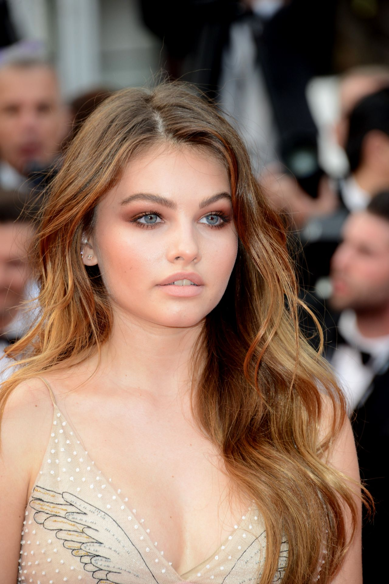 Thylane Blondeau Loveless Premiere At Cannes Film
