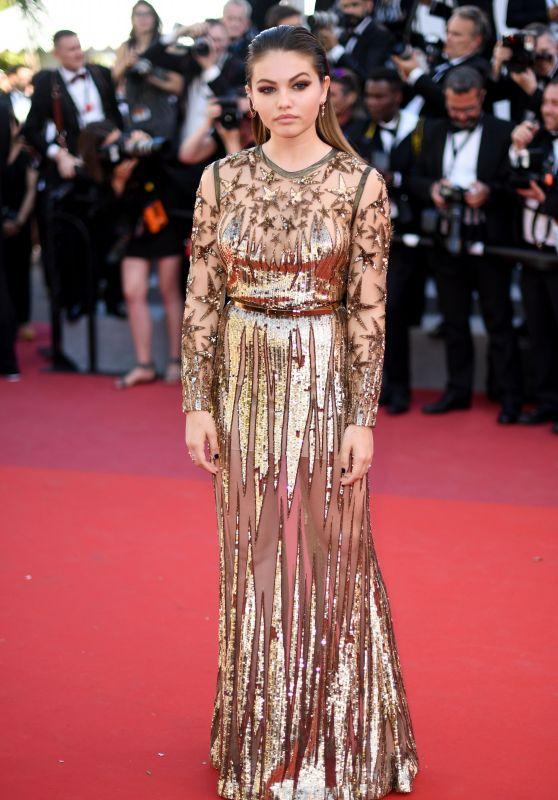 "Thylane Blondeau – ""Okja"" premiere at Cannes Film Festival 05/19/2017"