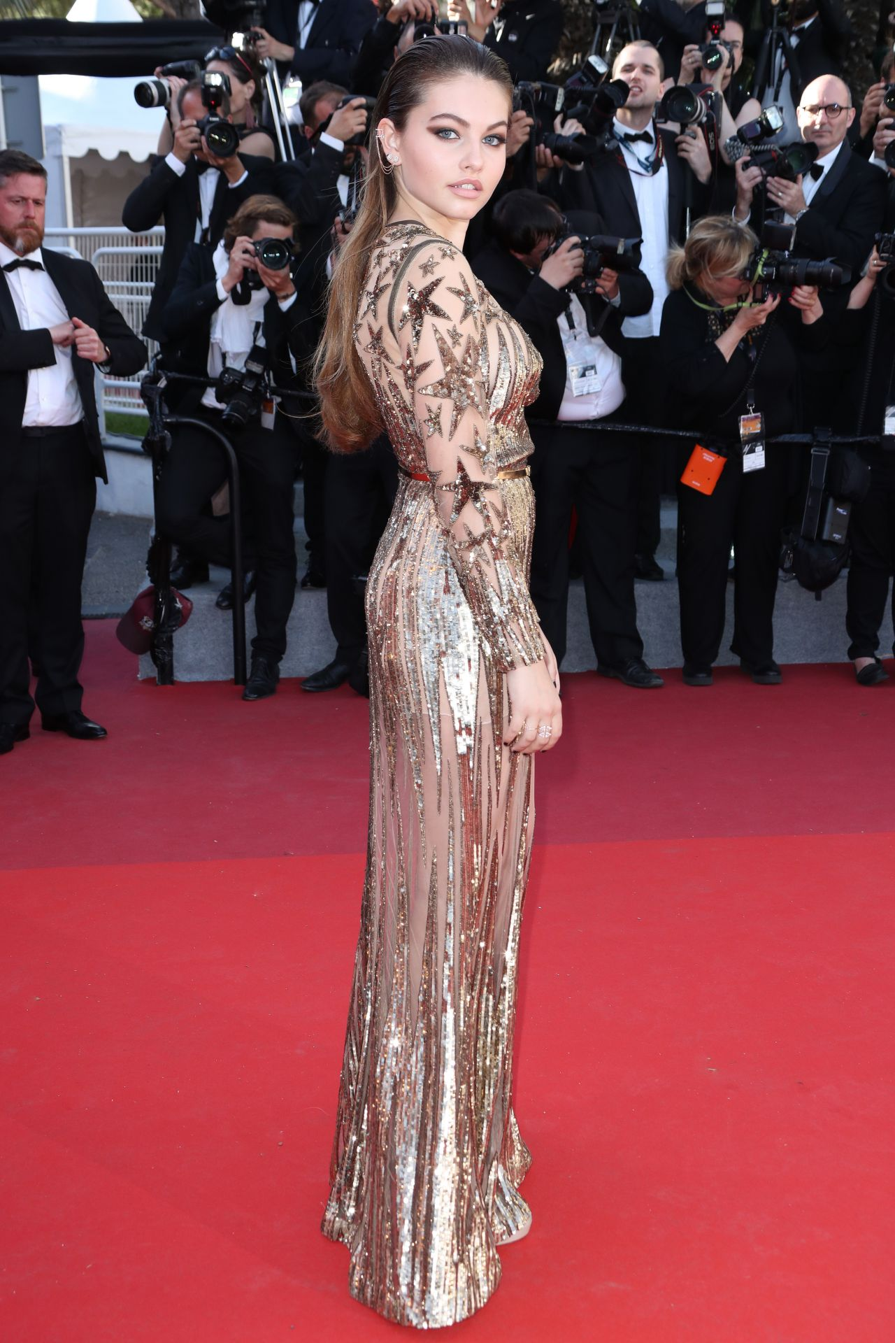 "Cannes 2017 Heidi Klum Continues A Cannes Tradition In: ""Okja"" Premiere At Cannes Film Festival"