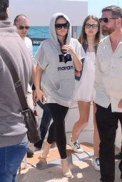 Thylane Blondeau - Out in Cannes, France 05/19/2017