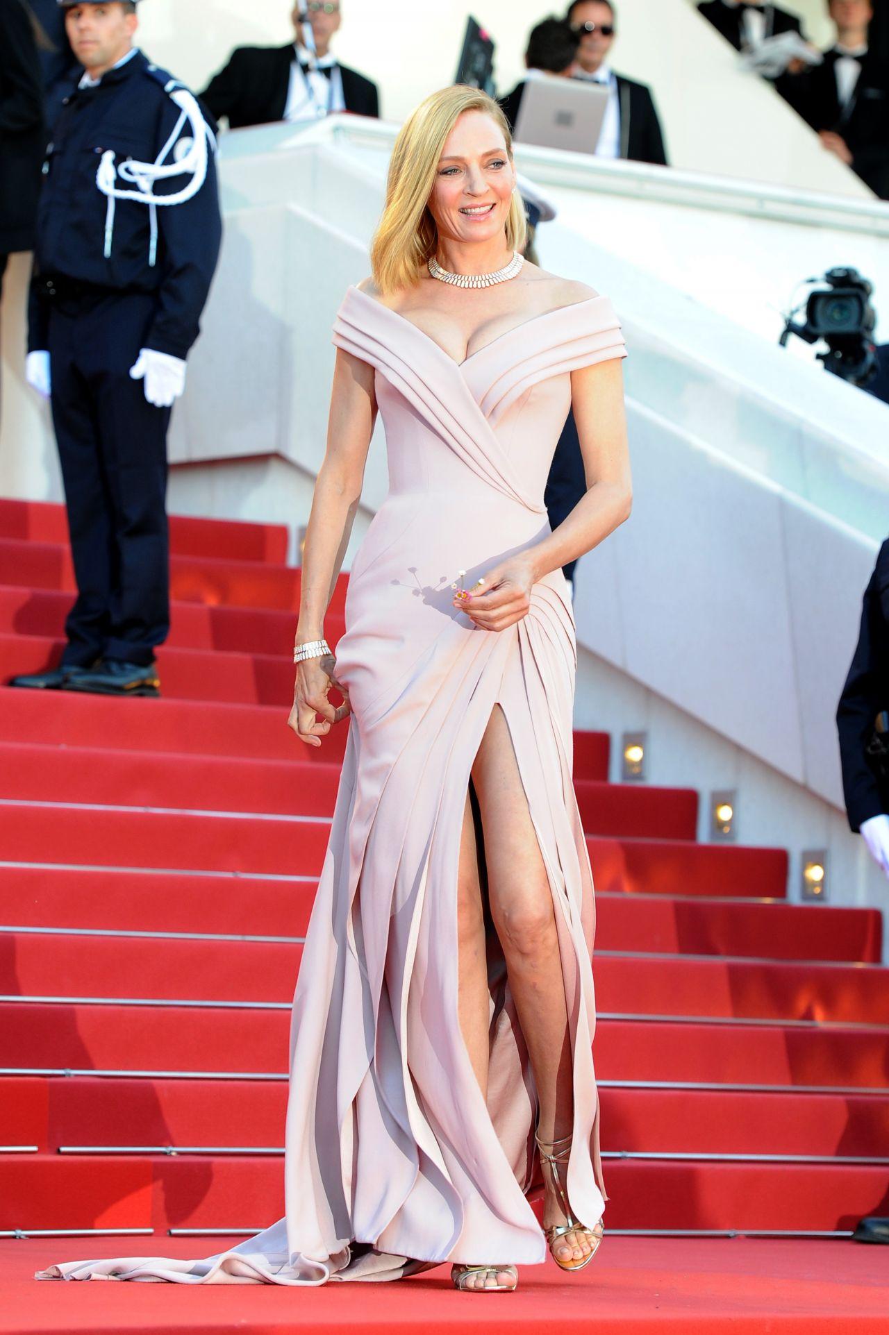 Uma Thurman 70th Cannes Film Festival Opening Ceremony