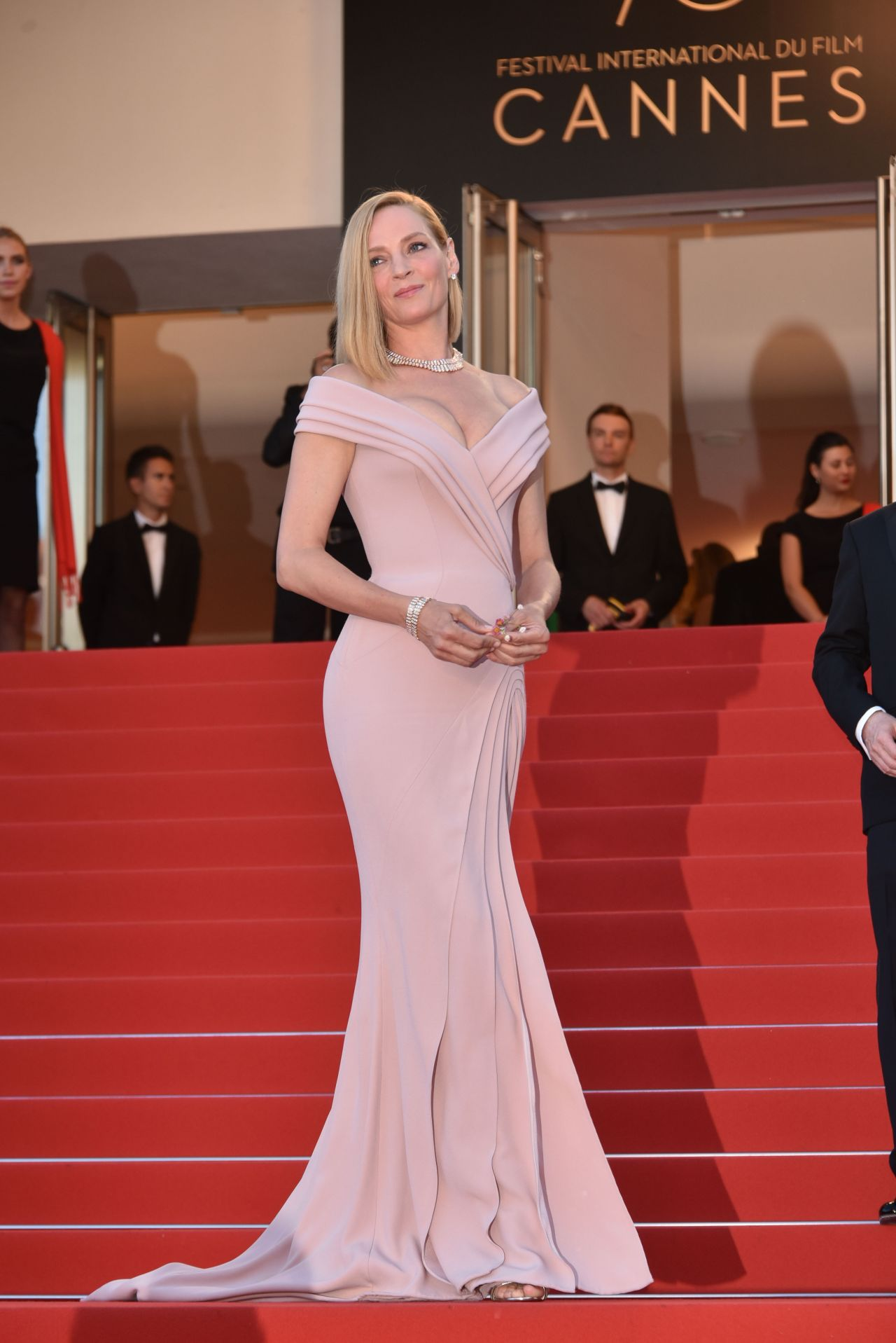 Uma Thurman 70th Cannes Film Festival Opening Ceremony