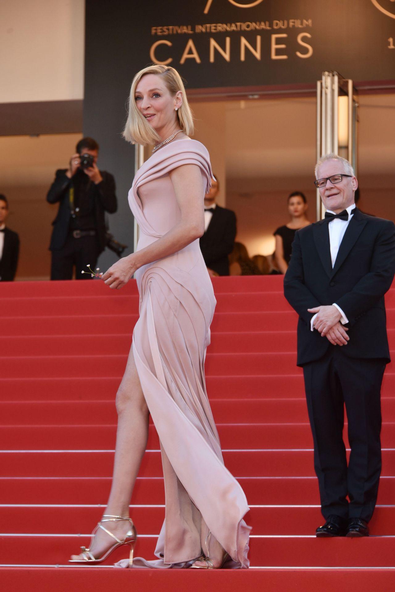 Uma Thurman – 70th Cannes Film Festival Opening Ceremony 05/17/2017