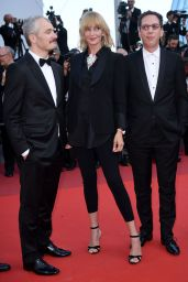 """Uma Thurman - """"Based On A True Story"""" Premiere in Cannes 05/27/2017"""