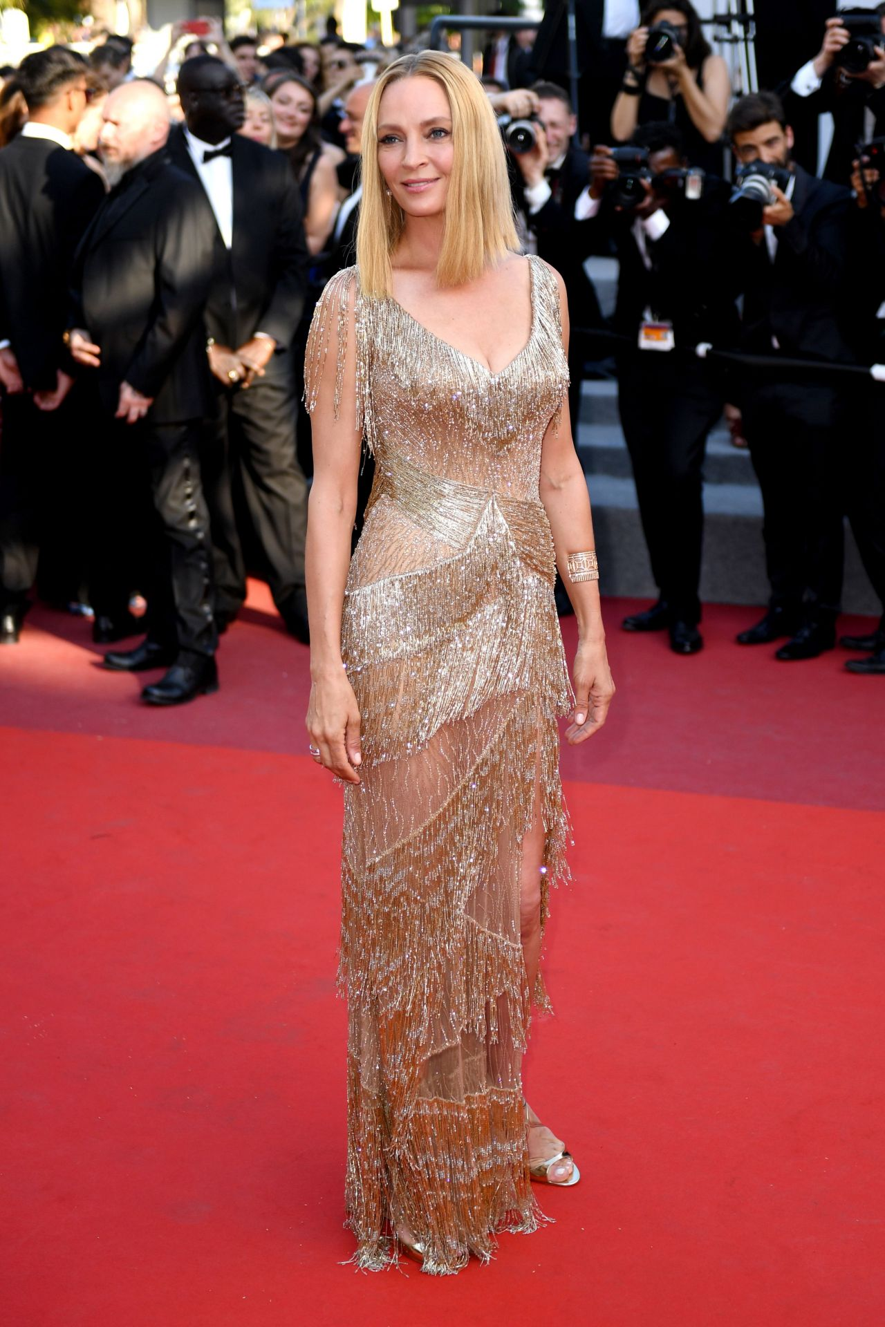 Cannes 2017 Heidi Klum Continues A Cannes Tradition In: Cannes Film Festival Closing Ceremony 05/28/2017