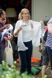 "Uma Thurman - Leaves the Set of ""The War With Grandpa"" in NY, May 2017"