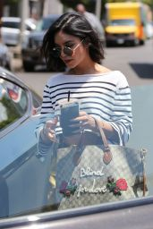 Vanessa Hudgens - Leaving Nine One Zero Salon in Los Angeles 05/16/2017