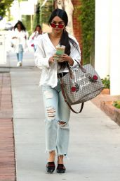 Vanessa Hudgens Urban Fashion - Stops for a Caffeine Fix at Alfred Coffee in West Hollywood 05/15/2017