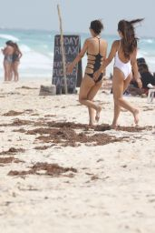Victoria Justice in Swimsuit - Cancun, Mexico 05/29/2017