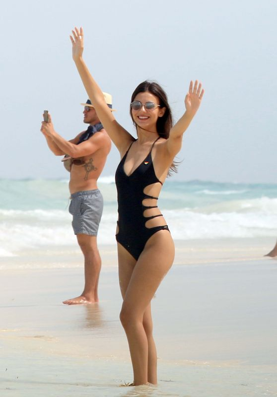 Victoria Justice in Swimsuit - Cancun, Mexico - Part II 05/29/2017