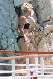Victoria Silvstedt Bikini Candids - Eden Roc Hotel in Antibes 05/27/2017