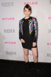 Violett Beane – NYLON Young Hollywood Party in Los Angeles 05/02/2017