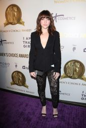 Violett Beane – Women's Choice Awards in Los Angeles 05/17/2017