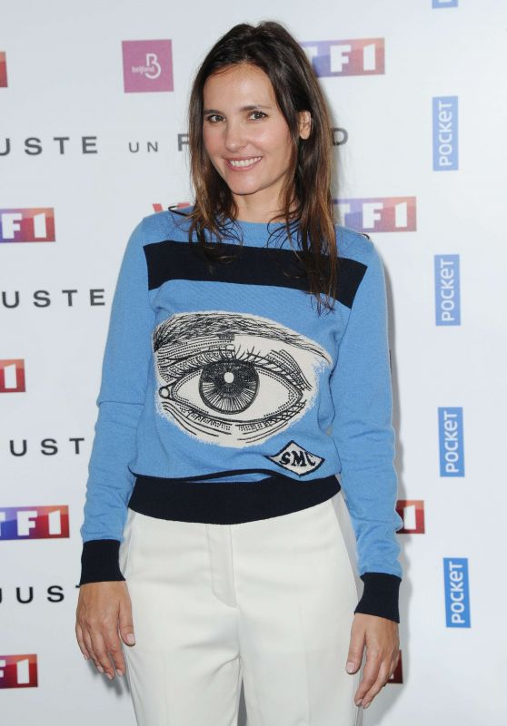 """Virginie Ledoyen - """"Just One Look"""" TV Show Photocall in Paris 05/11/2017"""