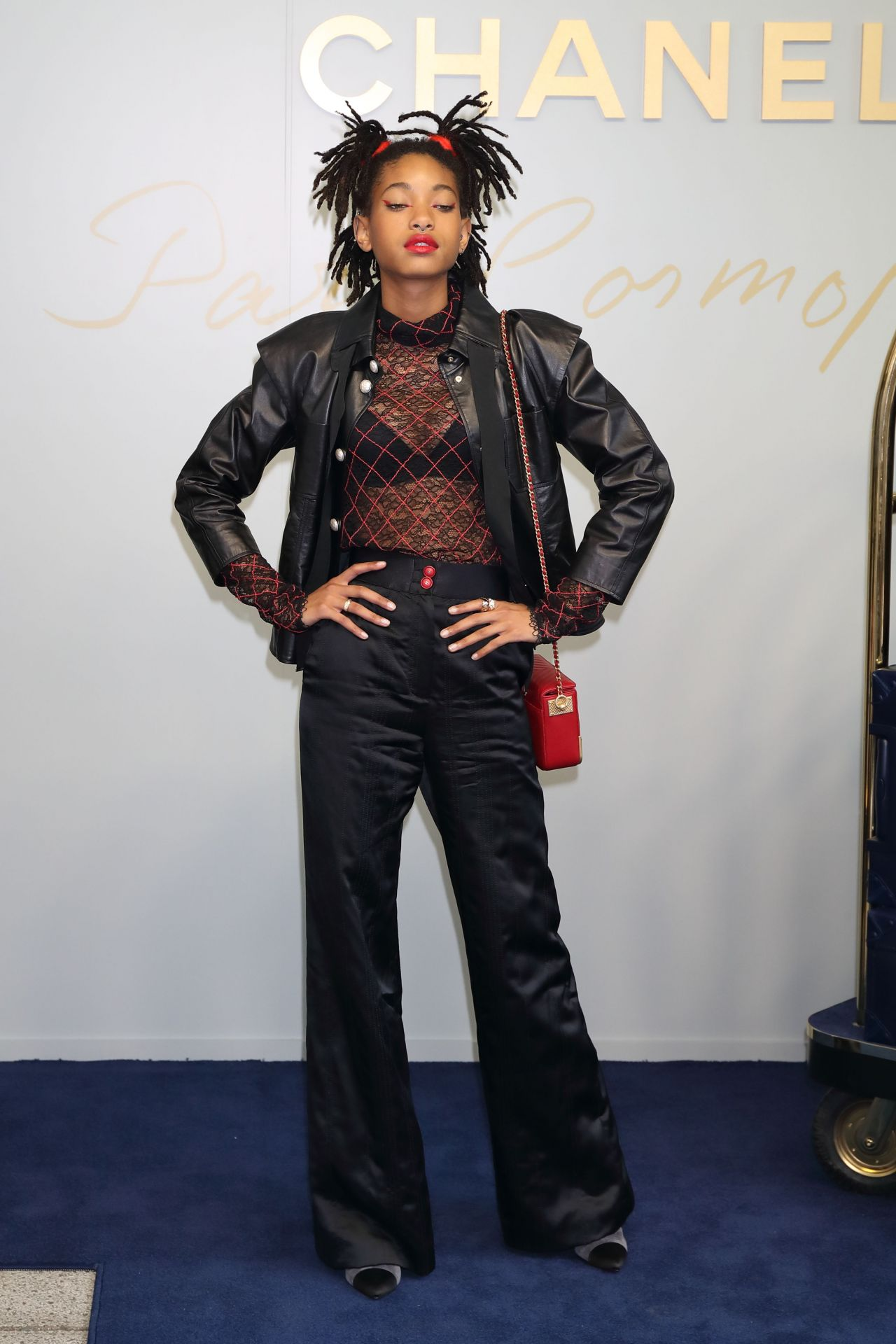 Willow Smith Chanel Metiers D Art 2016 17 Collection In