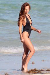 Xenia Deli in a Swimsuit at Miami Beach 05/10/2017