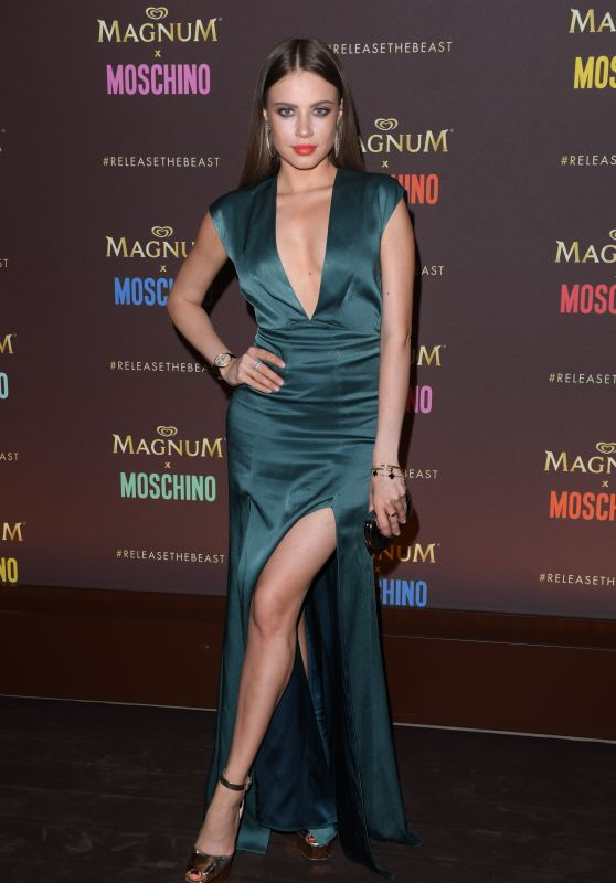 Xenia Tchoumitcheva - Magnum x Moschino Party at Cannes Film Festival 05/18/2017