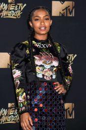 Yara Shahidi – MTV Movie and TV Awards in Los Angeles 05/07/2017