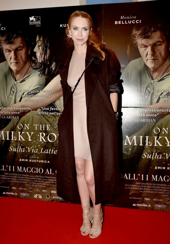 "Yvonne Scio – ""On The Milky Road"" Movie Premiere in Rome 05/08/2017"