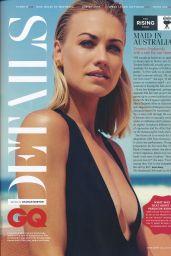 Yvonne Strahovski - GQ Magazine UK May 2017 Issue