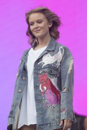 Zara Larsson Performs Live at BBC Big Weekend in Burton Constable Hall, UK 05/27/2017