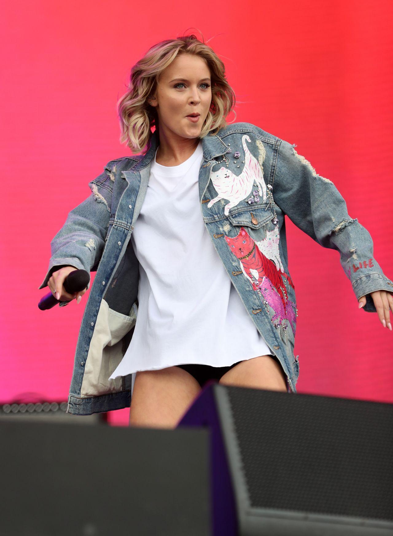 Zara Larsson Performs Live At Bbc Big Weekend In Burton