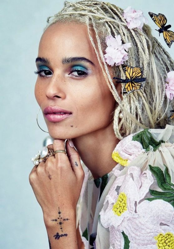Zoë Kravitz - Allure Magazine June 2017 Cover and Photos