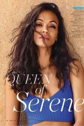 Zoe Saldana - Shape Magazine USA June 2017 Issue