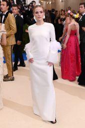 Zoey Deutch at MET Costume Institute Gala in New York 05/01/2017
